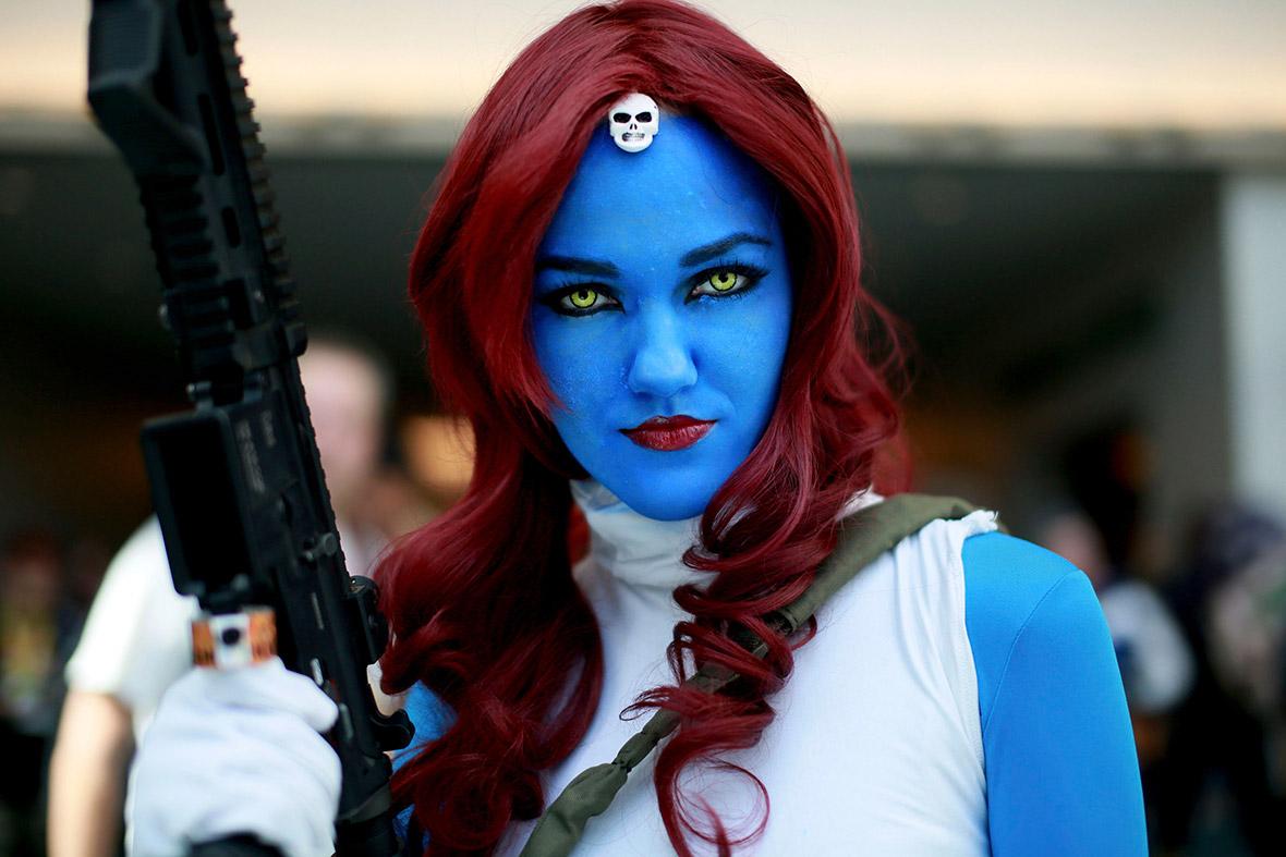 comic con blue