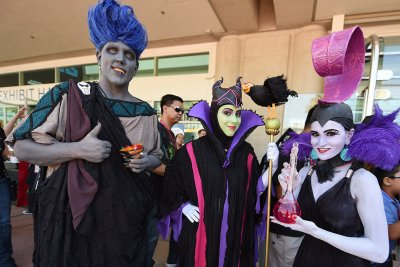 comic con maleficent