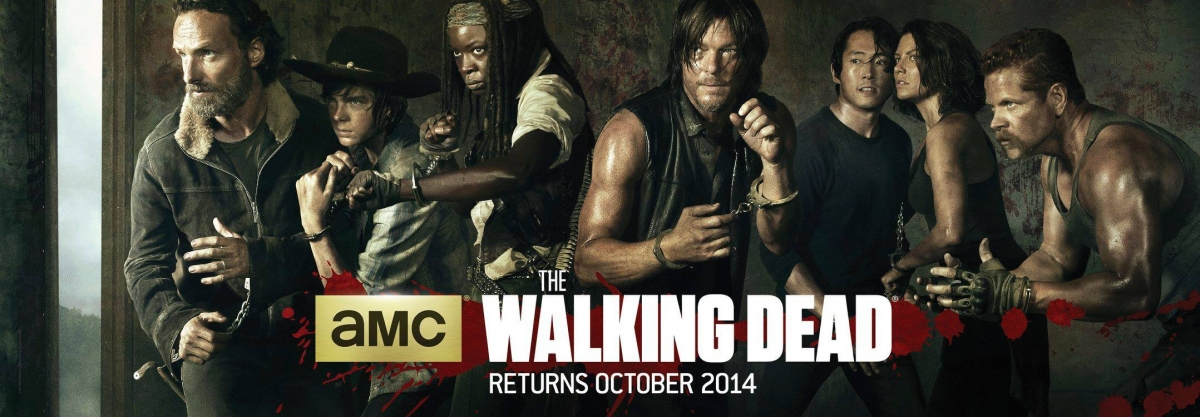 The official poster of The Walking Dead Season 5