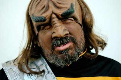 comic con worf klingon