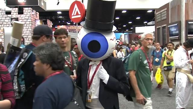 Cosplayers Unite at San Diego Comic-Con