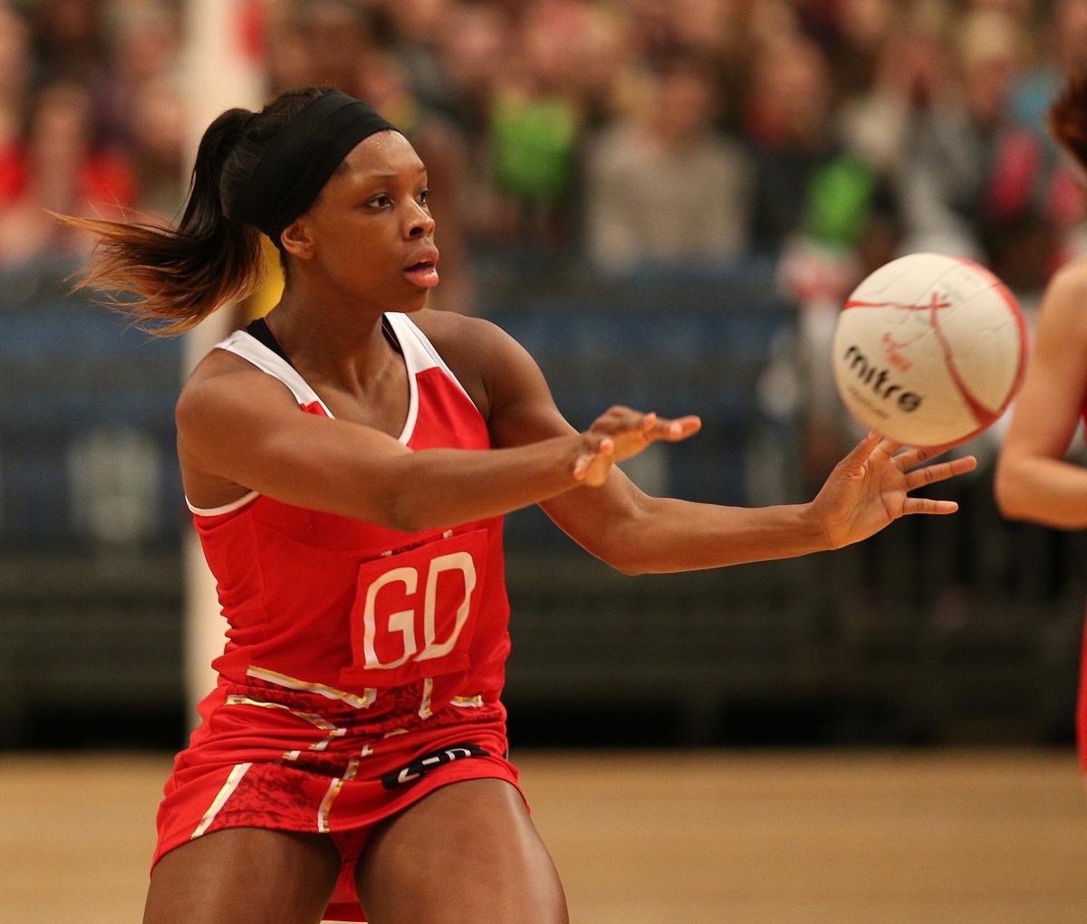 Glasgow 2014 Commonwealth Games England Netball Team Beat