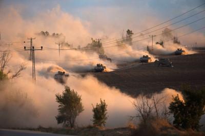 gaza tanks