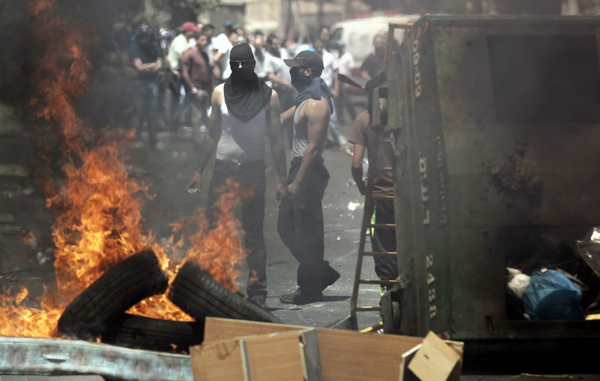 ISrael palestine protests july 25