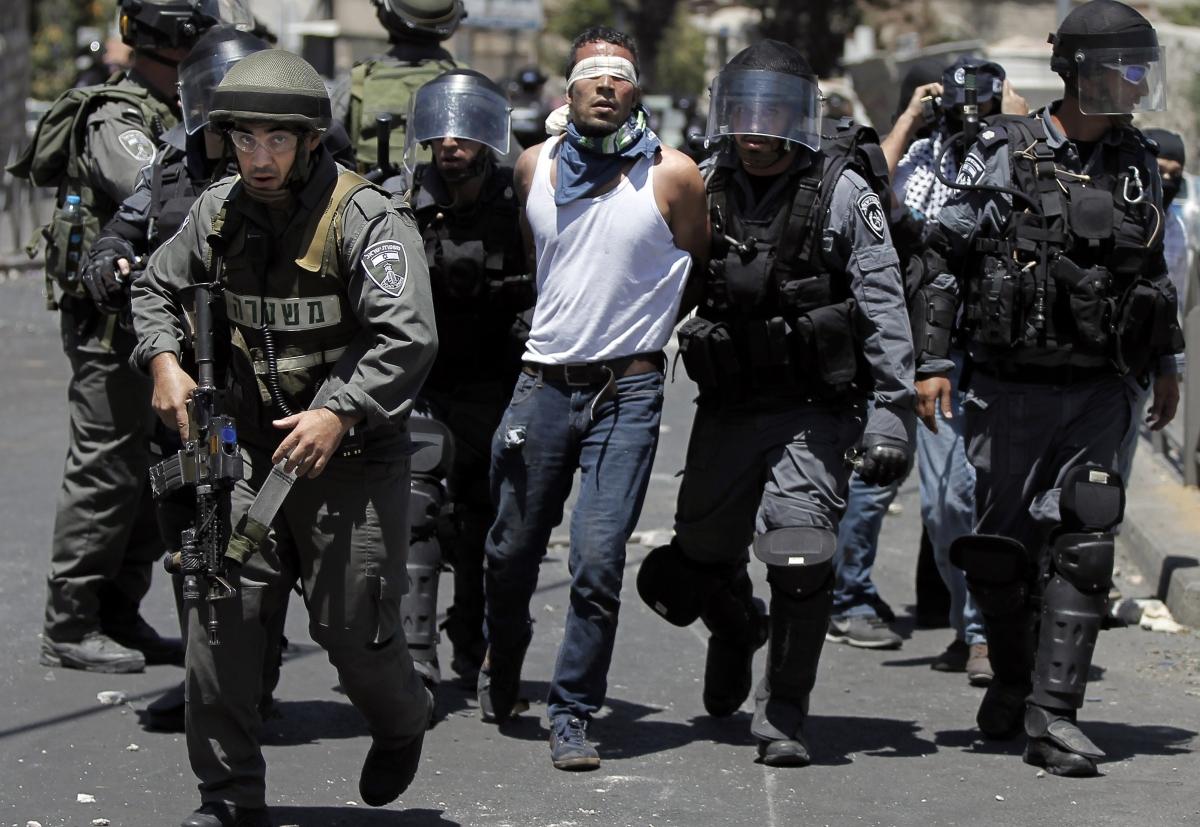 West Bank protests israel gaza july 25