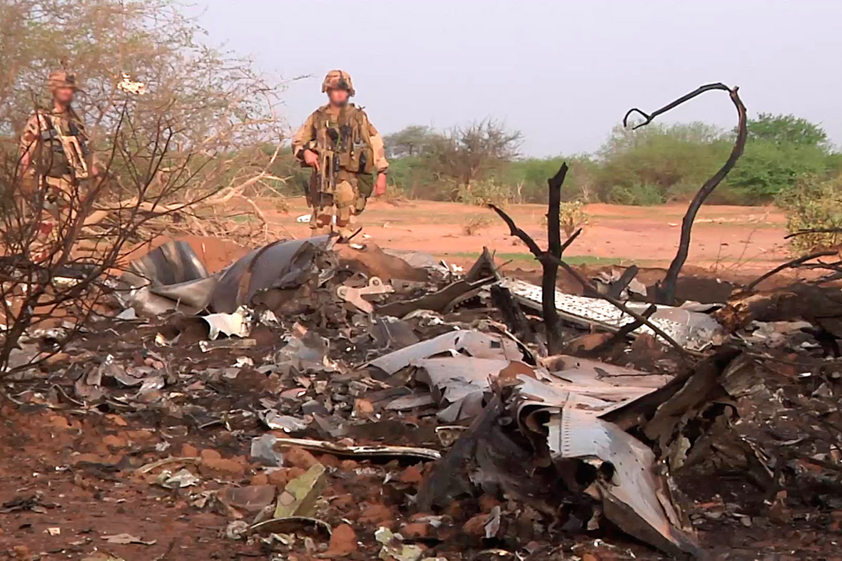 Air Algerie wreckage