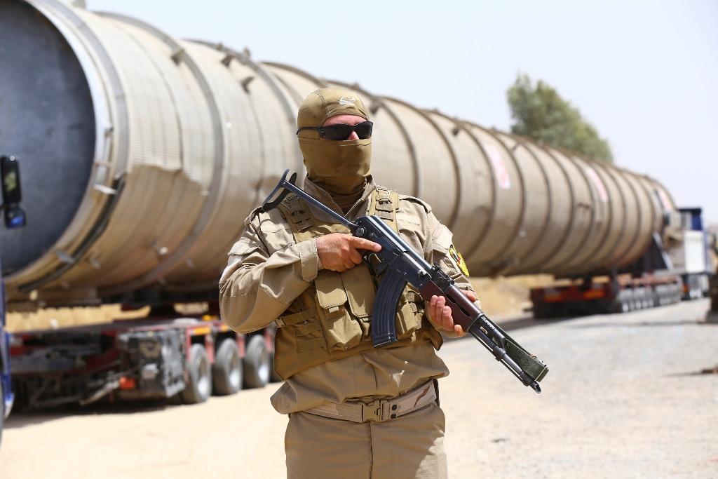 Kurdish Security Forces Iraq