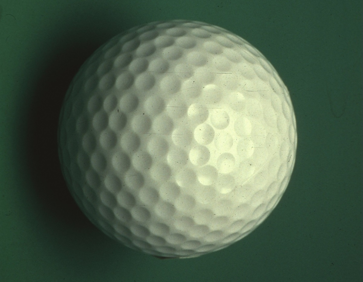 Golf balls have long been dimpled to increase speed. (Getty)