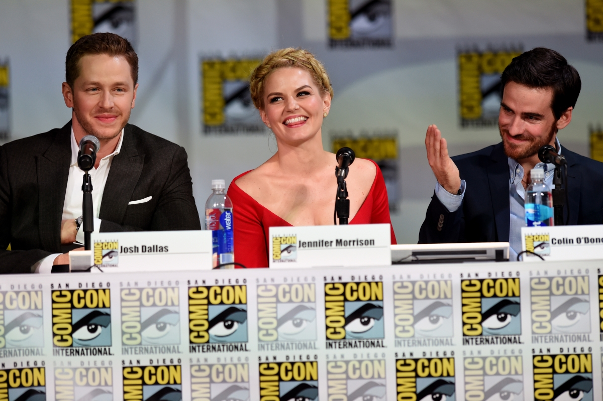 Once Upon A Time at Comic Con