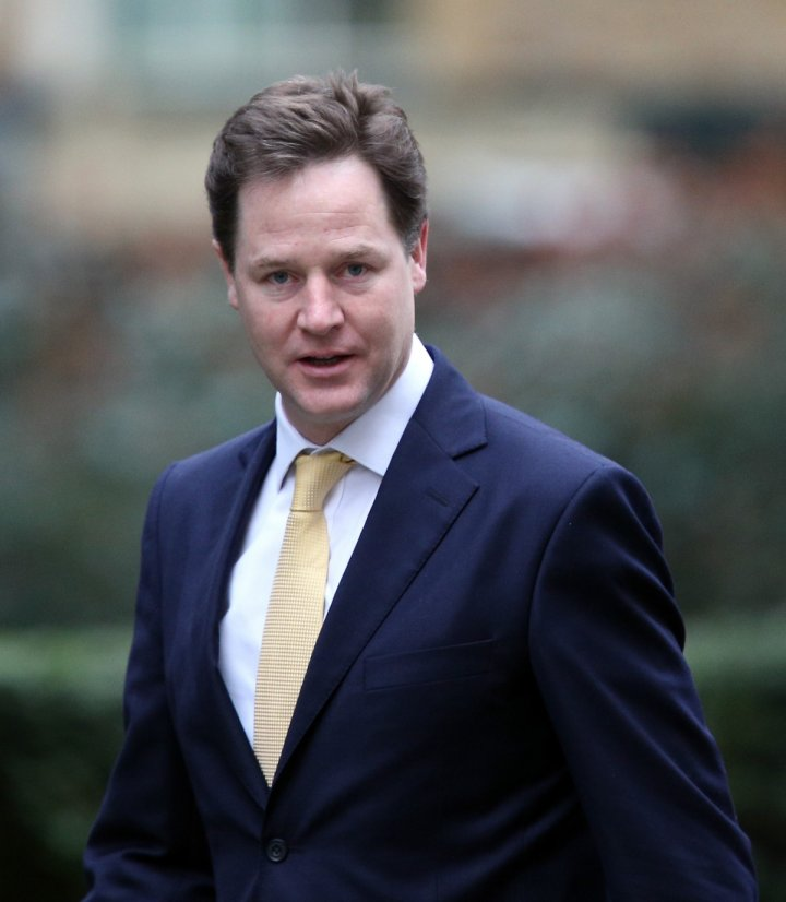 Deputy Prime Minister Nick Clegg said it was