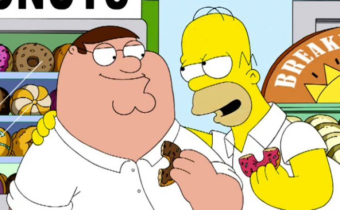 The Simpsons and Family Guy Crossover Episode