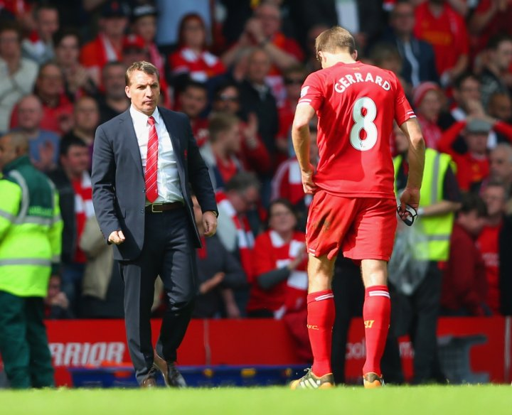 Brendan Rodgers-Steven Gerrard