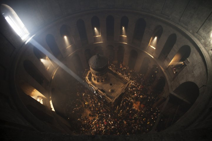 Church of the Holy Sepulchre in Jerusalem's Old city