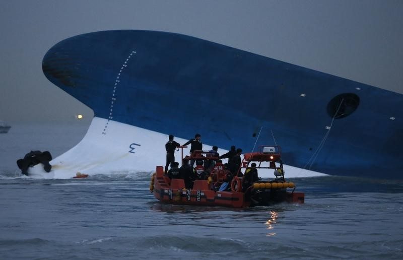 Survivors from the South Korean ferry accident Testify against Crew