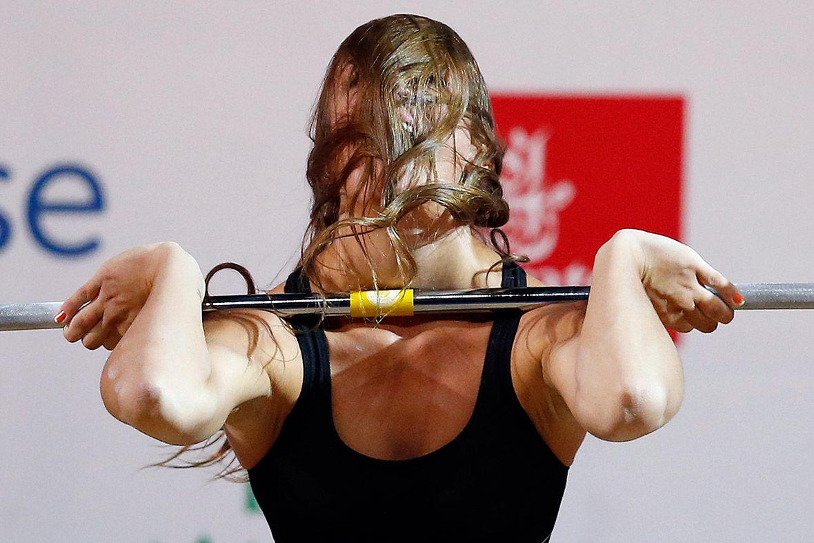 commonwealth games weightlifter