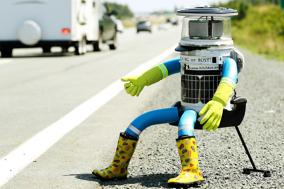 robot hitchhiker
