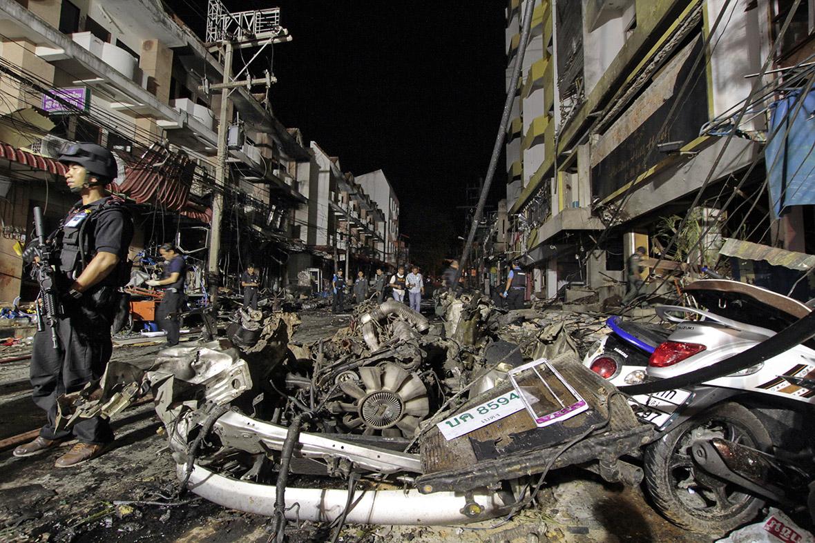 thailand car bomb