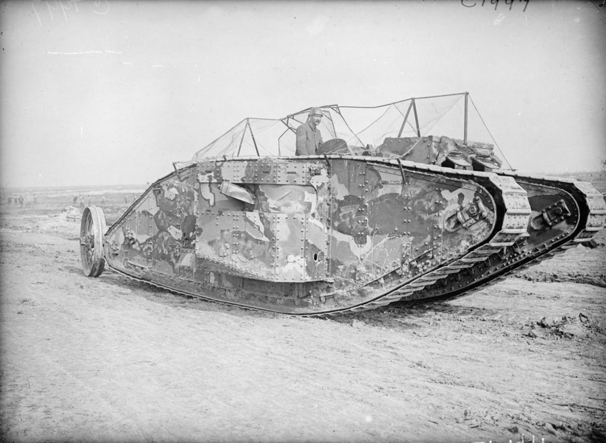 WWI tanks