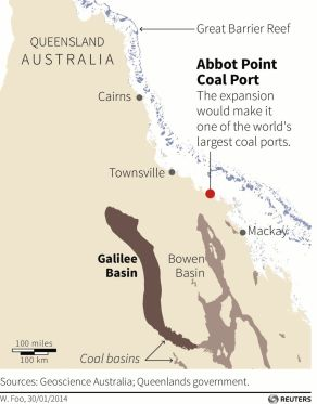 Abbot Coal Port Australia