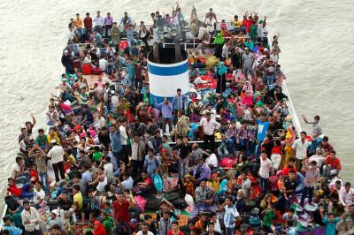 bangladesh ferry eid