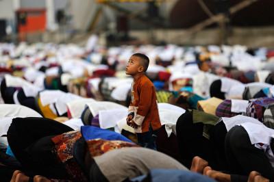 indonesia eid mosque
