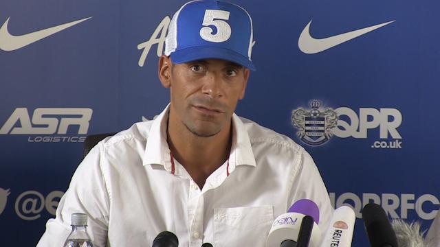 Rio Ferdinand Talks about His Year Ahead at QPR