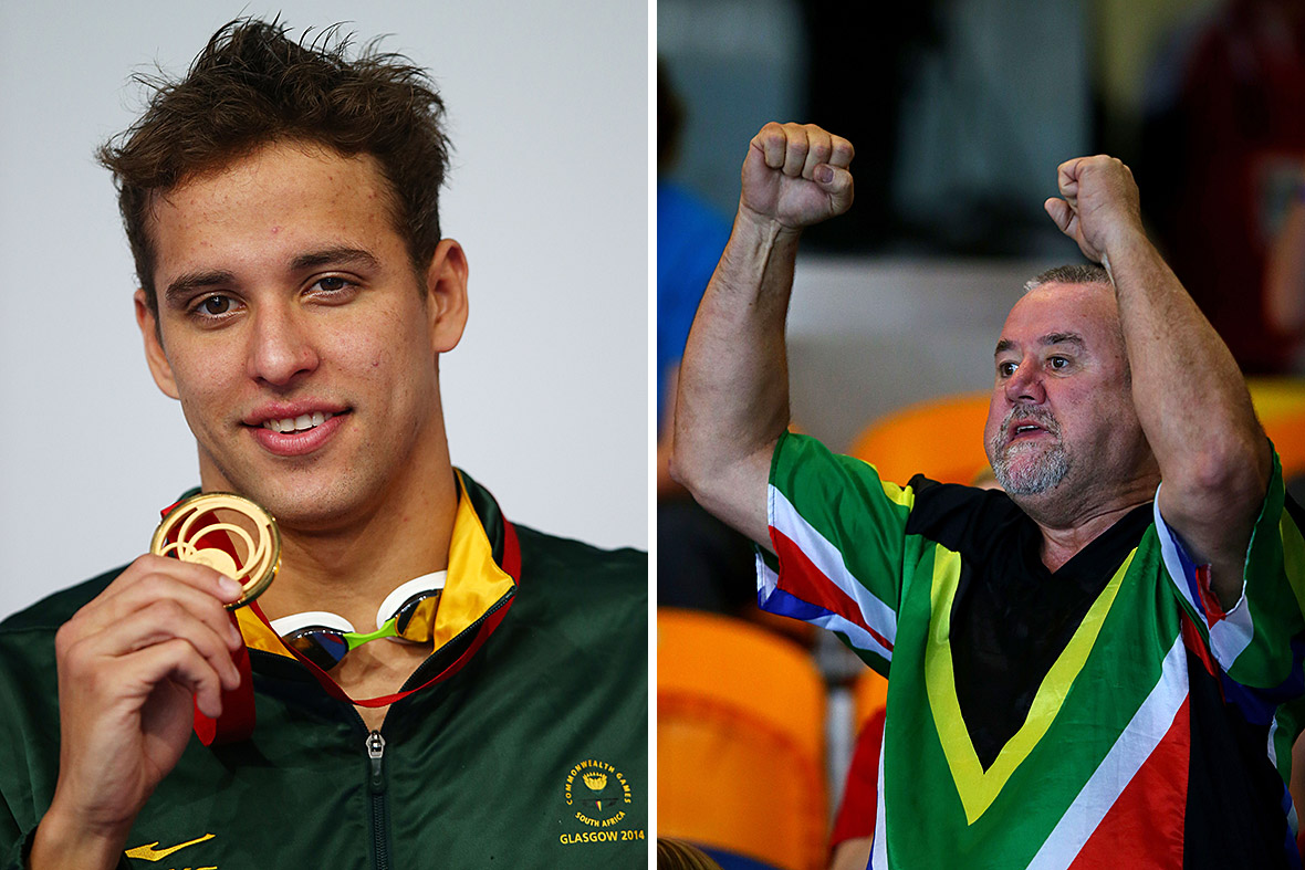 Commonwealth Games Chad Bert le Clos