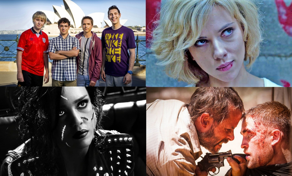 August Film Preview: The Inbetweeners 2, The Rover & Sin City A Dame to Kill For