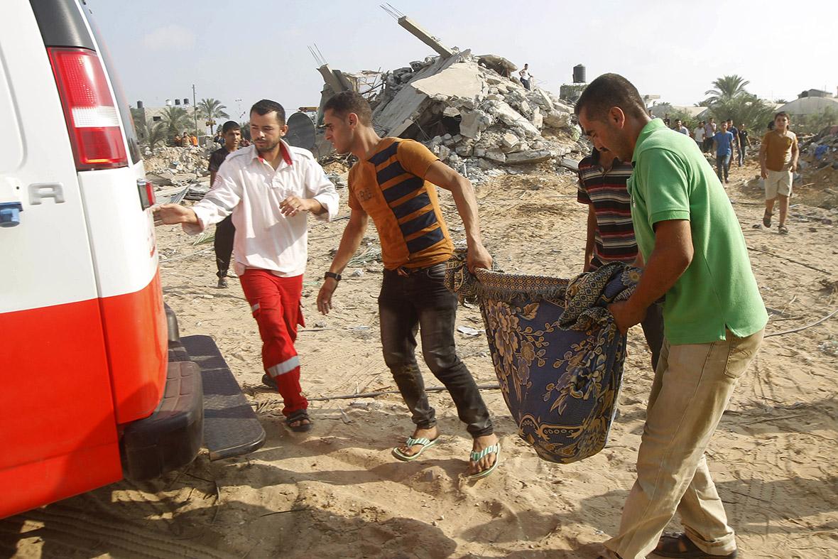 gaza body