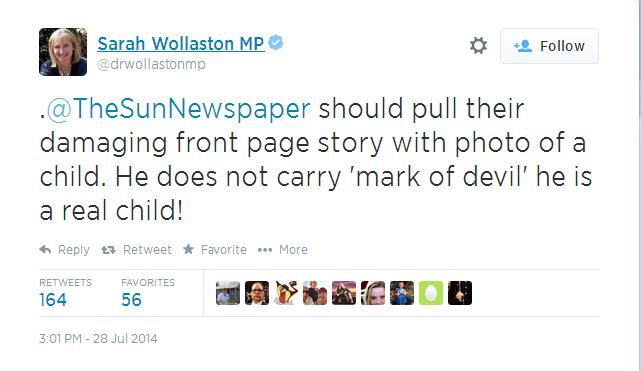 Sarah Wollaston The Sun