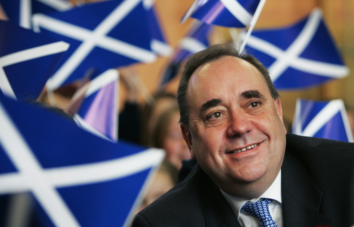 Salmond attacks Nick Robinson