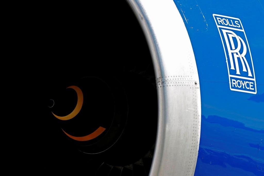 Rolls Royce Aircraft Engine