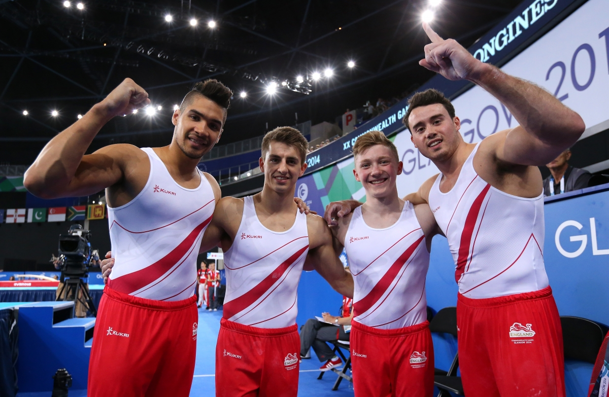 England gymnastics team