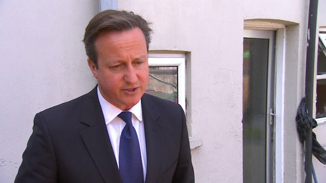 Cameron Promises to Crack Down on Illegal Migrants