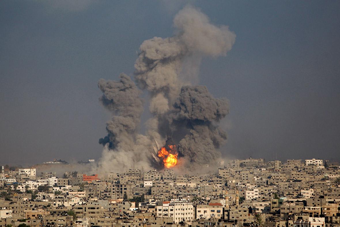 gaza fireball