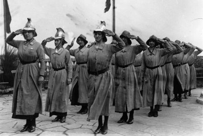 first world war women