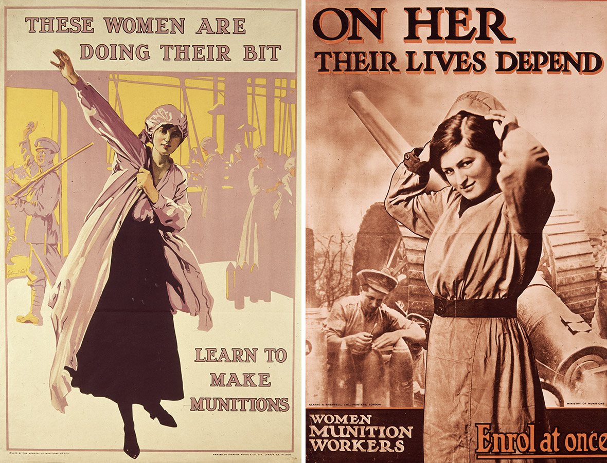 a history of womens roles at home and work