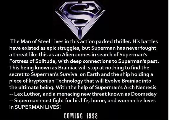 Superman Lives