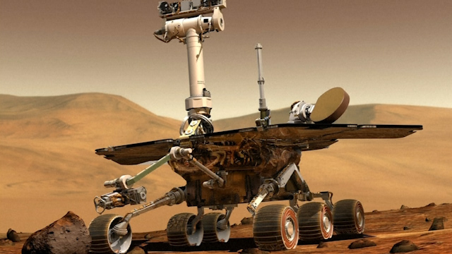 NASA's Mars Rover Sets Off-Earth, Off-Road Distance Record