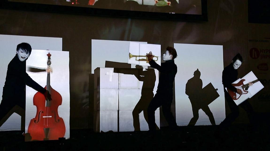 SIRO-A play animated instruments at Hyper Japan 2014
