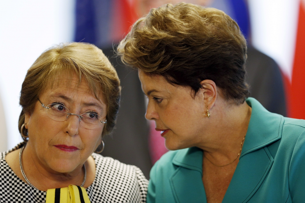 Chile Brazil BRICS