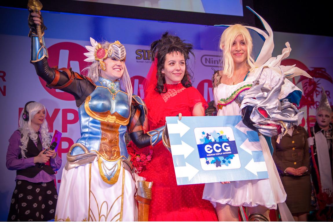 ECG cosplay 1
