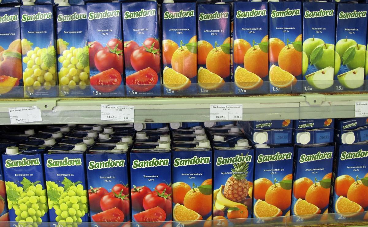Ukrainian juice