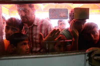 gaza hospital bodies