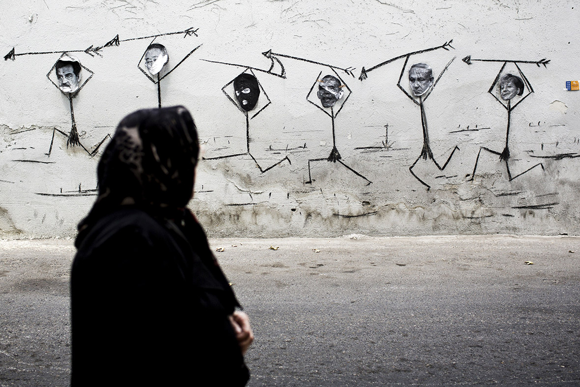 iran graffiti