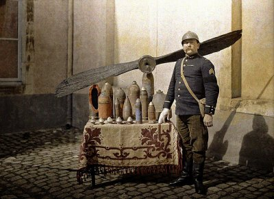 first world war in colour