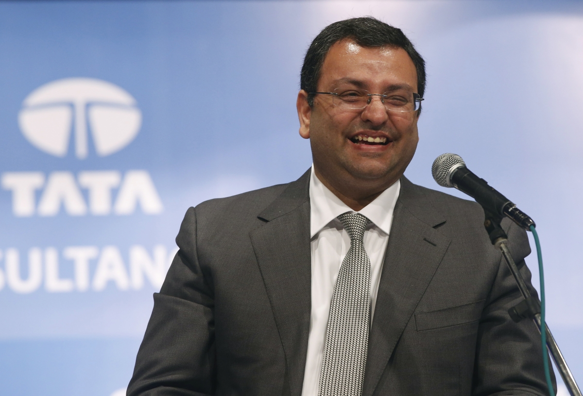 Cyrus Mistry, chairman of Tata Group, smiles during the Tata Consultancy Services Ltd. (TCS) annual general meeting in Mumbai