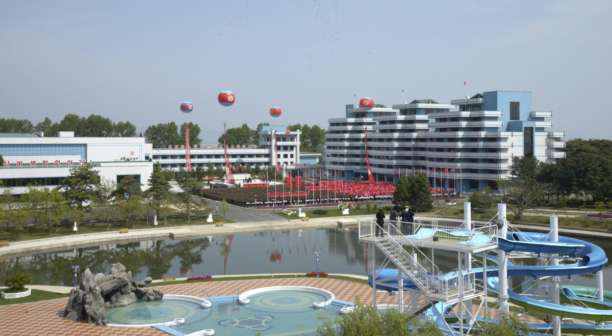 Songdowon International Children's Camp is open for business to children of the world