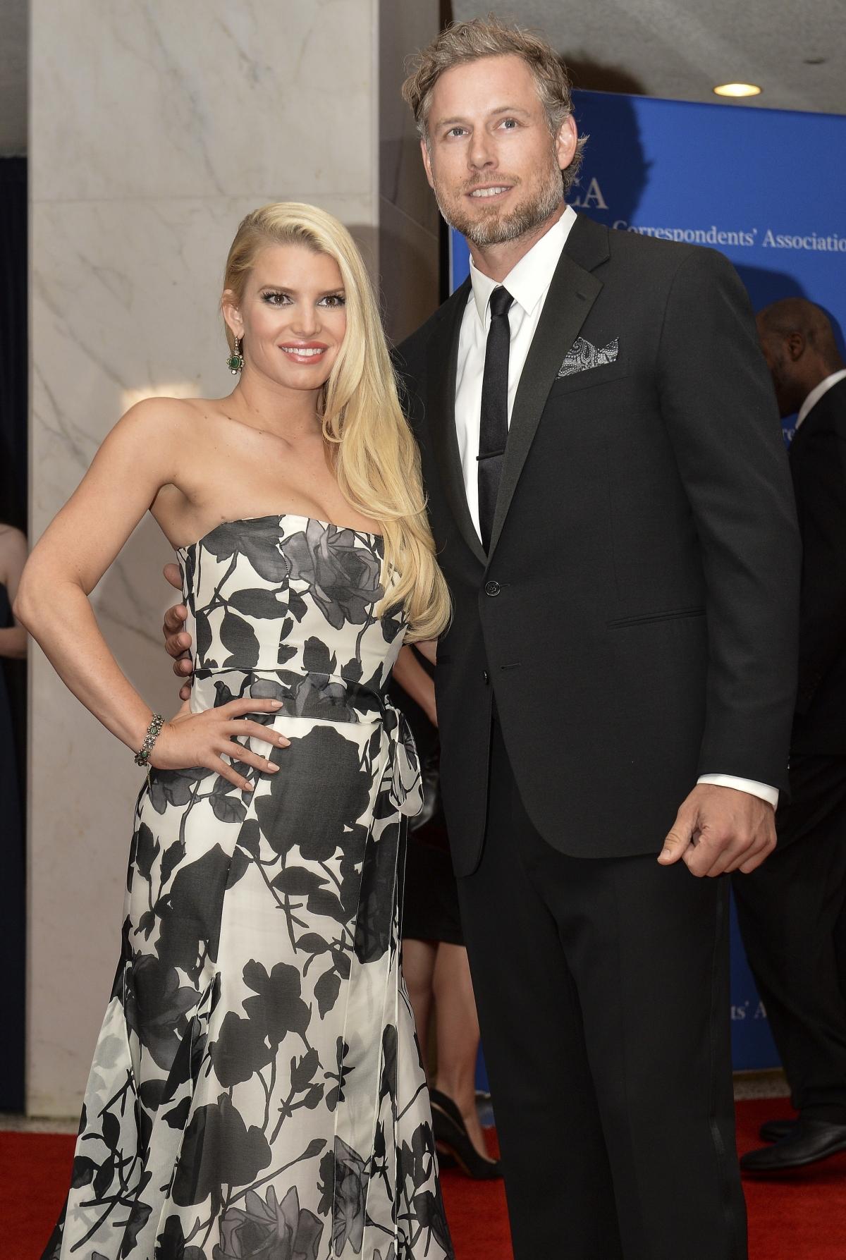 Jessica Simpson with husband Eric Johnson
