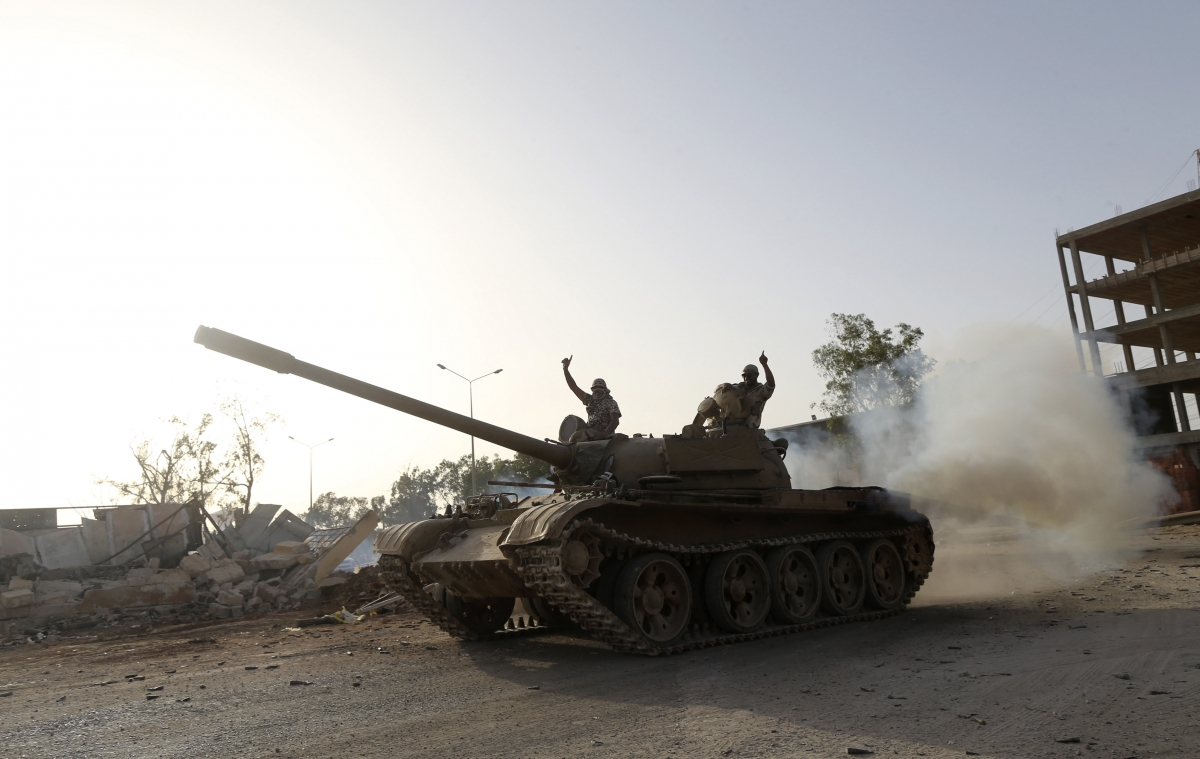 Militants declare Islamic Emirate in eastern Libya
